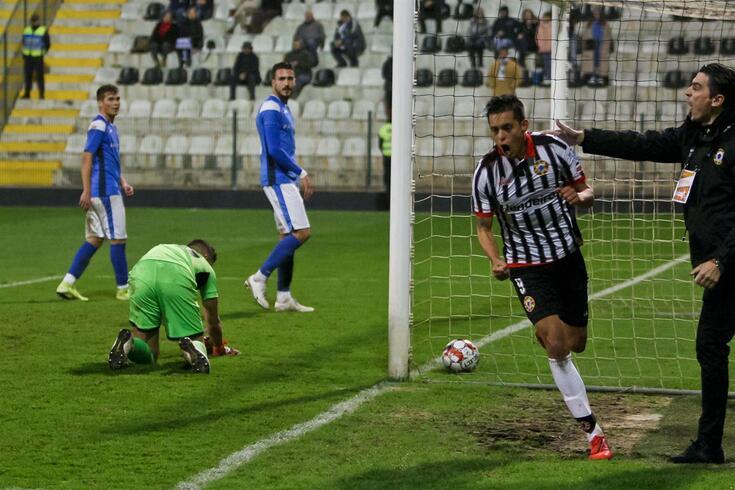 Ruiz já festejou 11 golos na atual temporada