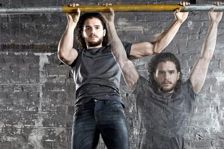 O treino de Jon Snow para o último episódio
