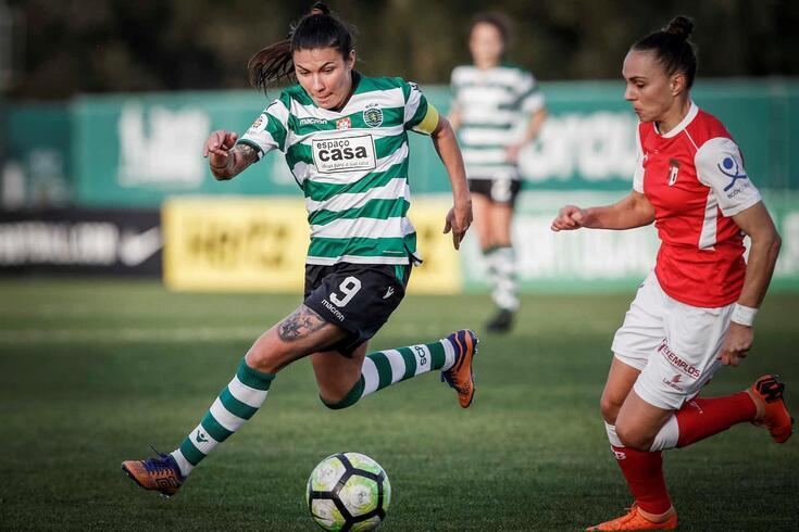 Ana Borges, uma das capitãs do Sporting