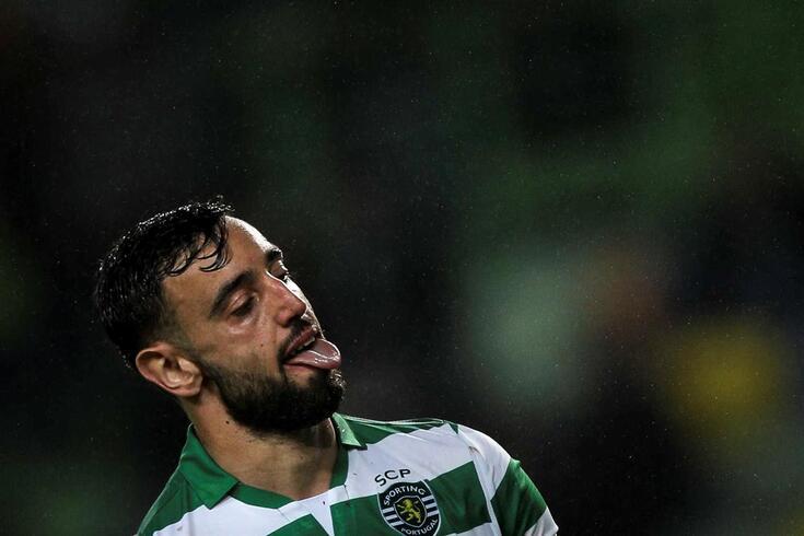 Bruno Fernandes, capitão do Sporting
