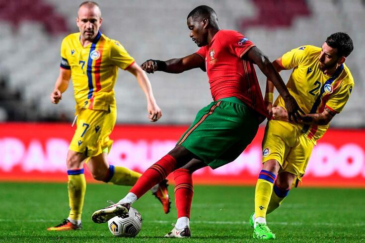 William Carvalho, aqui ao serviço da Seleção Nacional