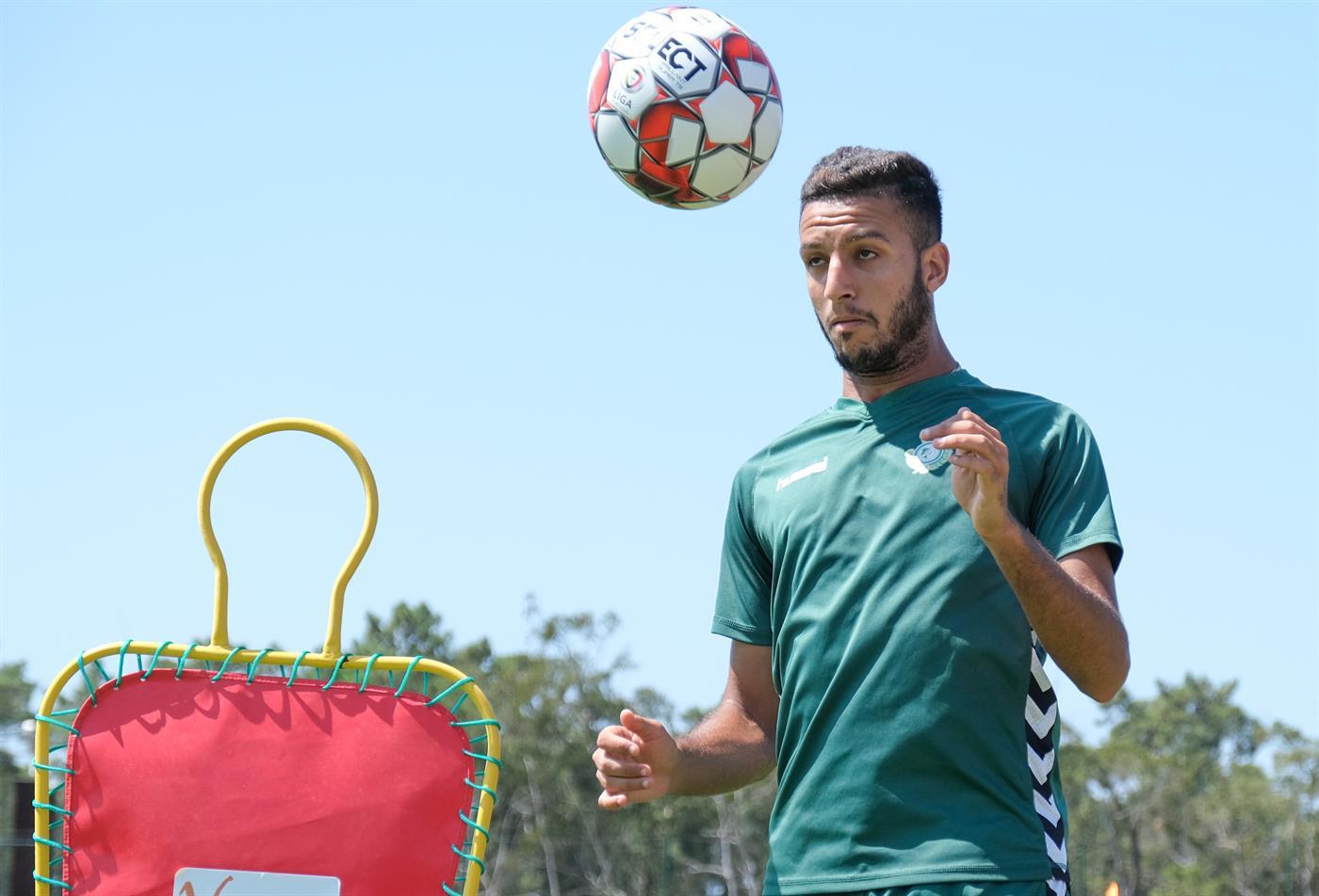 Troia, 17/07/2019 - O Vitoria de Setúbal treinou esta manhã no One Troia José Mourinho Training CentreKhalid