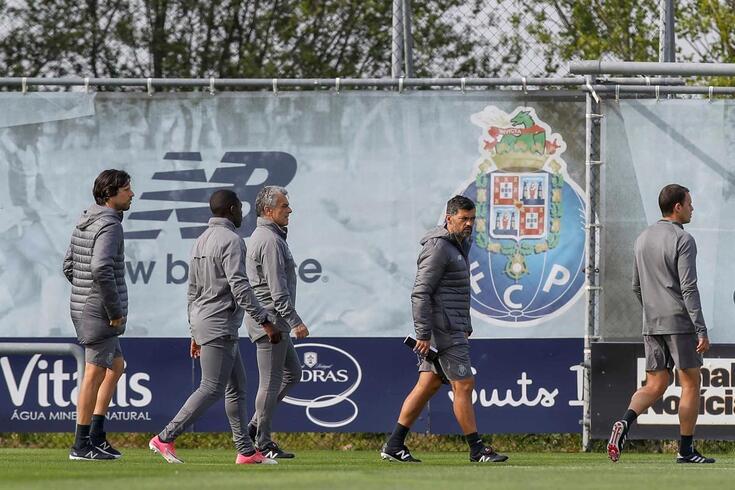 FC Porto voltou a treinar no Olival antes da final da Taça de Portugal.