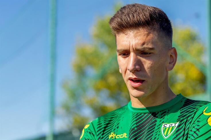 Ricardo Alves, jogador do Tondela