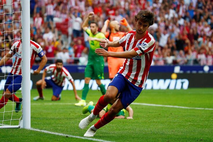 João Félix já se estreou a marcar pelo Atlético de Madrid