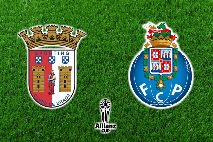 DIRETO | Braga-FC Porto