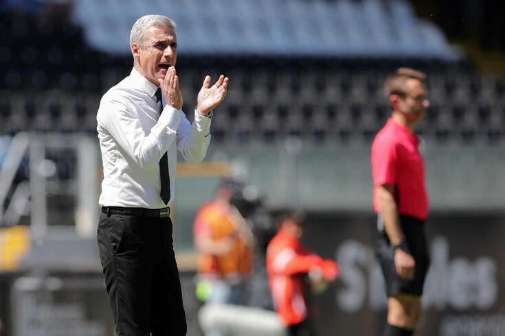 Luís Castro, treinador do Vitória de Guimarães