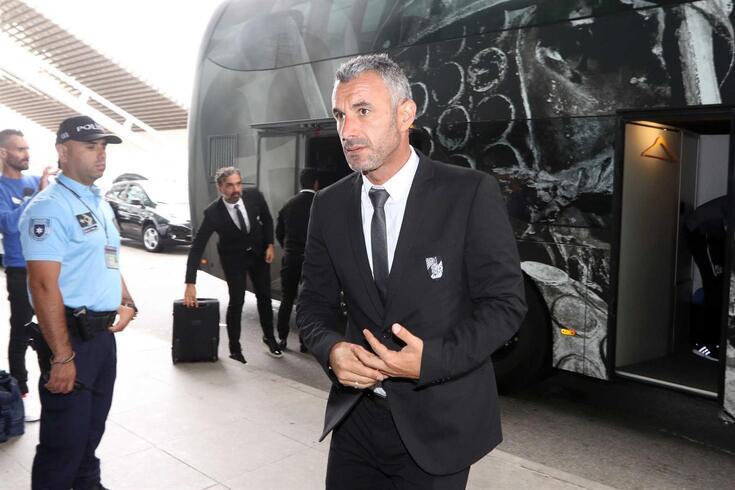 Ivo Vieira, treinador do Vitória de Guimarães.