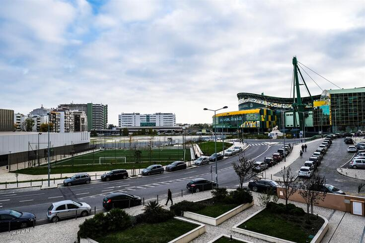 Estádio de Alvalade, casa do Sporting