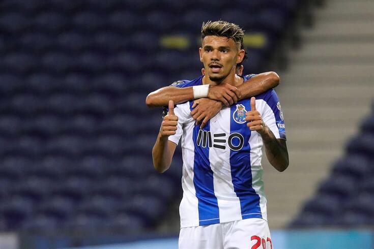 Soares, ponta de lança do FC Porto