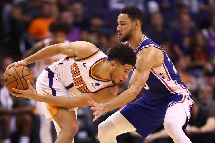 Devin Booker, com 40 pontos, esteve em grande nos Suns