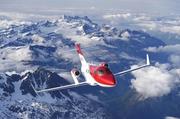 Sabia que a Honda também faz aviões?