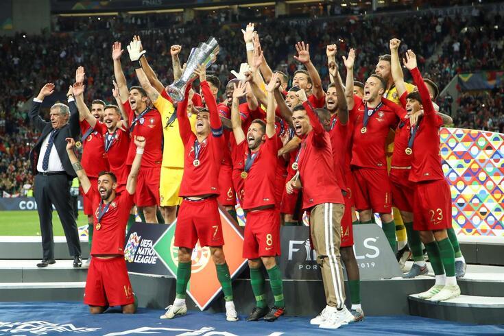 Portugal venceu a primeira Liga das Nações da UEFA, em 2019.