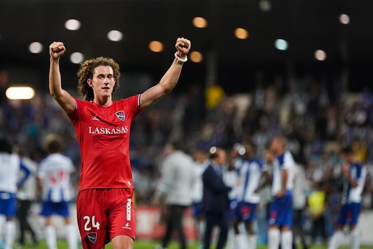 Kraev marcou o golo da vitória frente ao Gil Vicente