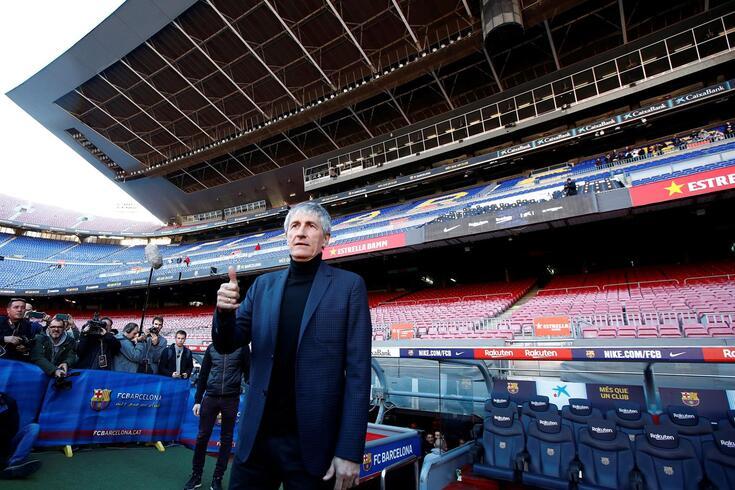 Quique Setién é o novo treianador do Barcelona