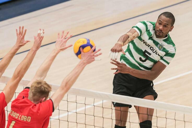 Resultados da sétima jornada e classificação do campeonato nacional de voleibol