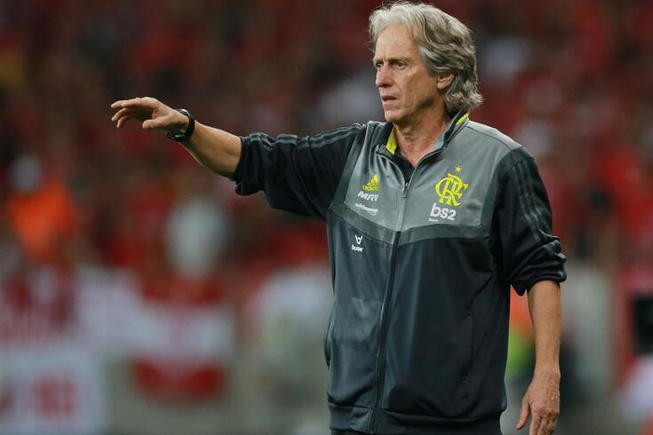 Jorge Jesus lidera o campeonato Brasileiro com o Flamengo
