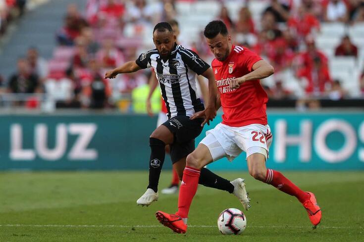Andreas Samaris renovou com o Benfica
