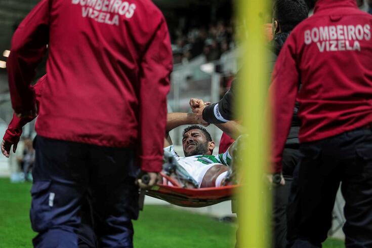 Djavan pára um mês após o Moreirense-Benfica