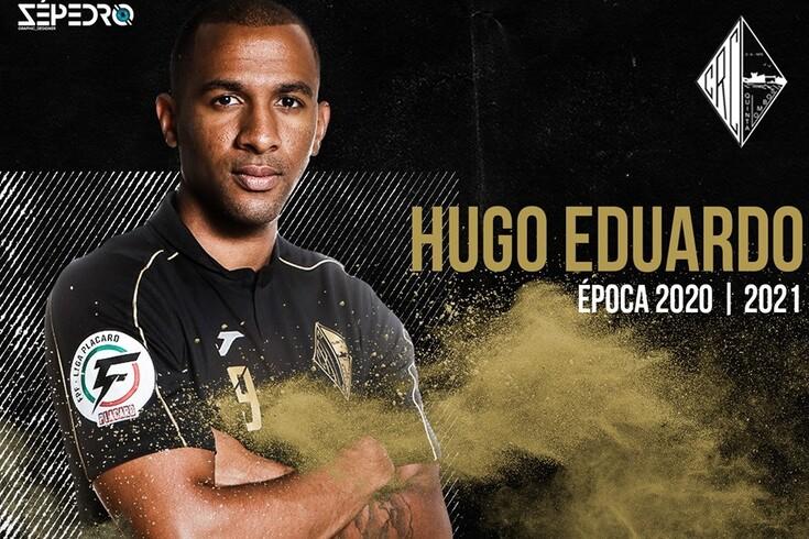 Renovação de Hugo Eduardo anunciada desta forma
