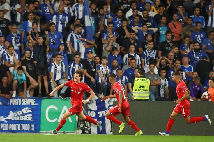 Gil Vicente bateu o FC Porto por 2-1 no jogo de regresso à I Liga