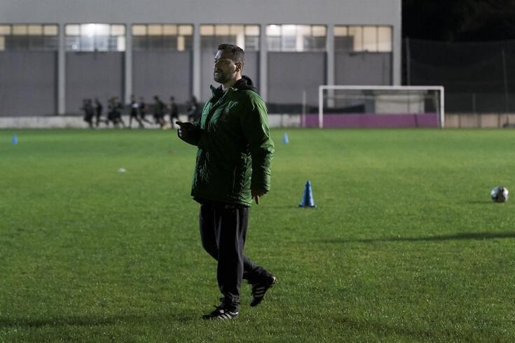 João Miguel Parreira, treinador do Fabril