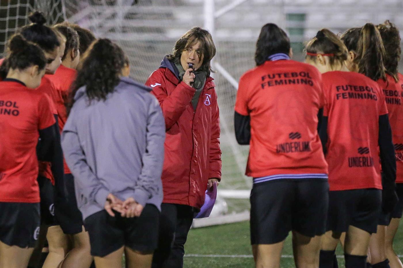 Paula Pinho, treinador do Albergaria.