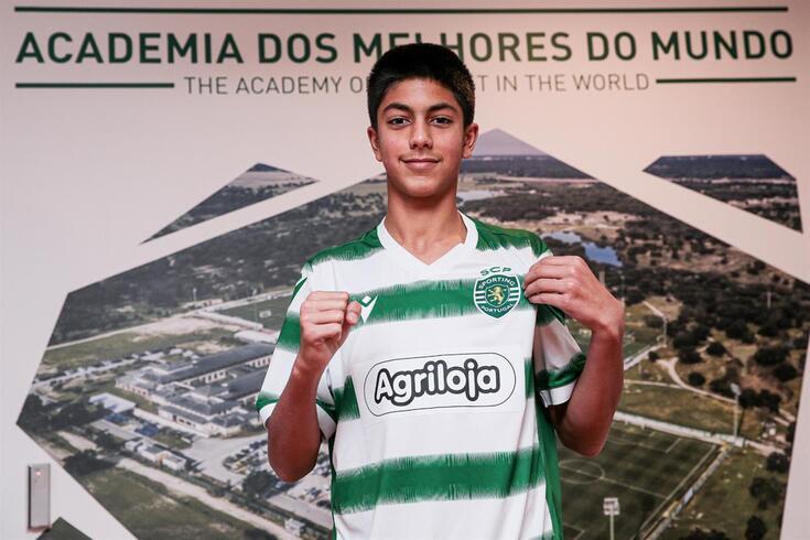 Eduardo orgulhoso com a oportunidade de representar o Sporting
