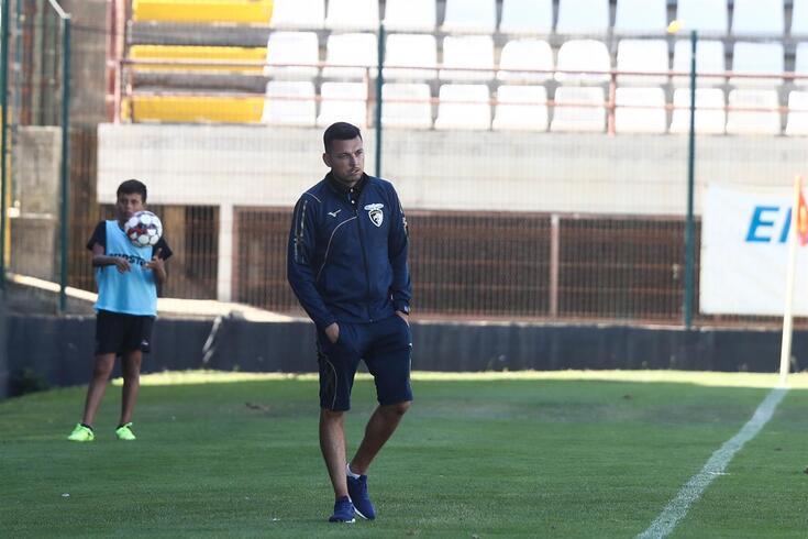 Bruno Lopes, treinador do Portimonense