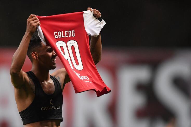 Galeno bisou no empate do Braga frente ao Famalicão