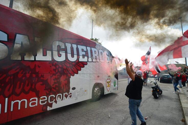 Salgueiros estreou-se no Campeonato de Portugal