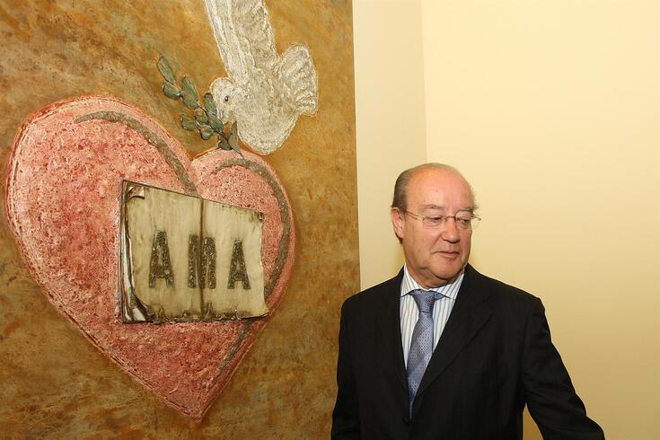 Pinto da Costa enterneceu-se por este Coração portuense