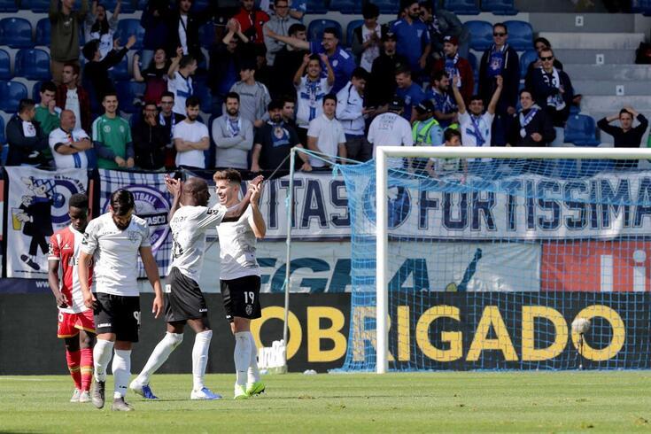 Feirense triunfou na I Liga 32 jogos depois