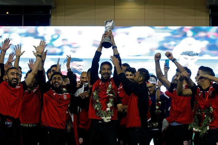 Bahrain, comandado pelo português Hélio Sousa, conquistou a Taça do Golfo
