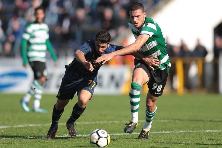 Vila das Aves, 25/11/2017 - O Futebol Clube Famalicão recebeu esta noite o Sporting Clube de Portugal