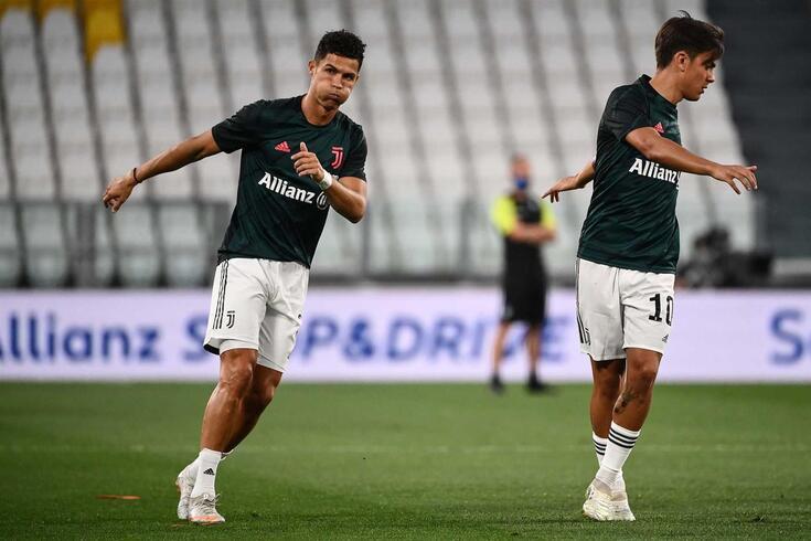 Ronaldo e Dybala foram muito influentes no título da Juventus