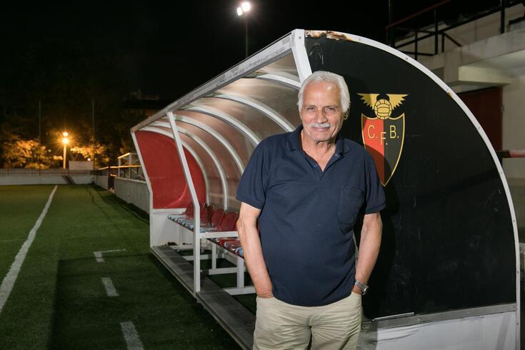 Domingos Estanislau, presidente do Futebol Benfica