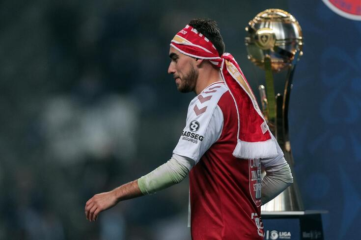 Ricardo Horta marcou e o Braga venceu a Taça da Liga