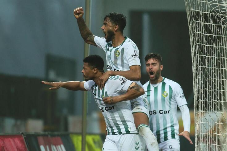 Hildeberto Pereira fez o golo da vitória sadina
