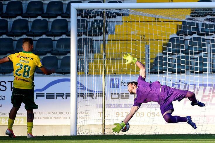 O Paços de Ferreira foi mais forte nas grandes penalidades.