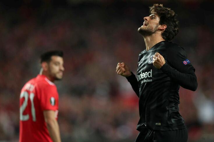 Gonçalo Paciência, avançado português do Eintracht Frankfurt