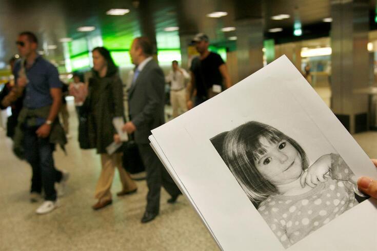 Madeleine McCann desapareceu no Algarve em 2007