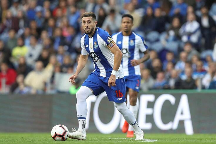 Herrera capitaneou o FC Porto antes de rumar ao Atlético de Madrid