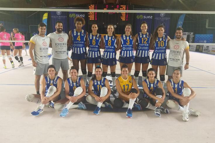 AJM/FC Porto está na final do torneio realizado em Istres