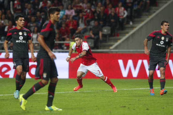 Salvador Agra saiu do banco para selar a última vitória do Braga sobre o Benfica na Liga. Agora joga