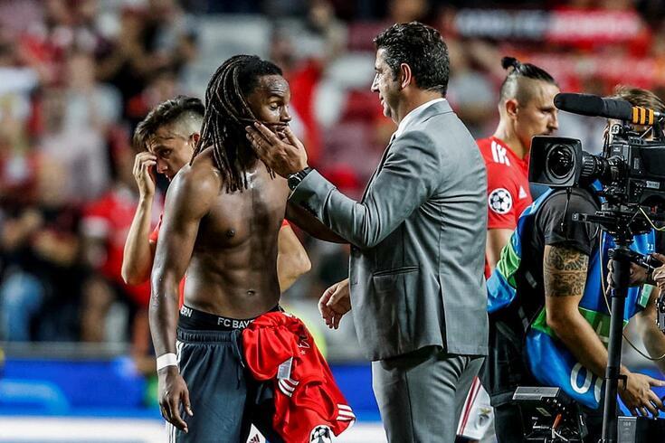 """Rui Vitória fala em pormenores e elogia Renato: """"Mostrou o que aprendeu aqui"""""""
