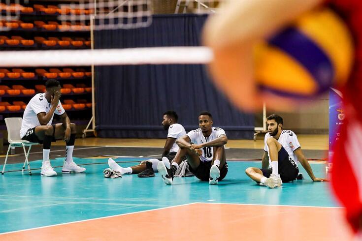 Fonte do Bastardo eliminado na segunda ronda da Taça Challenge de voleibol