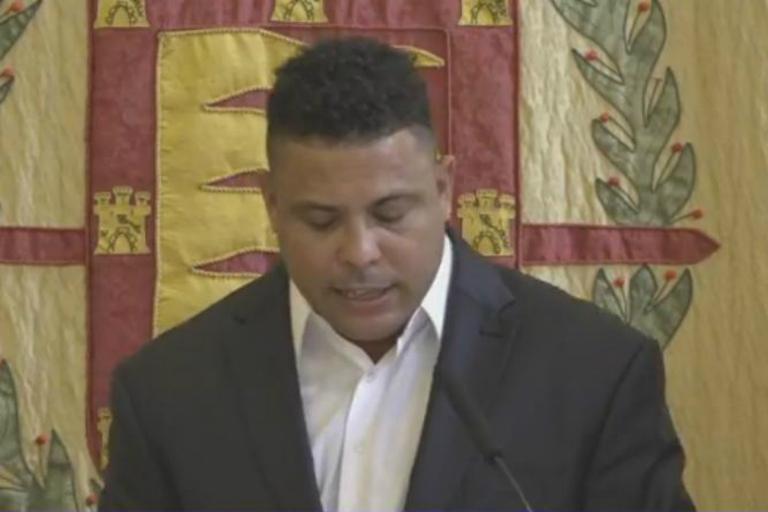 Ronaldo apresentado como dono do Valladolid