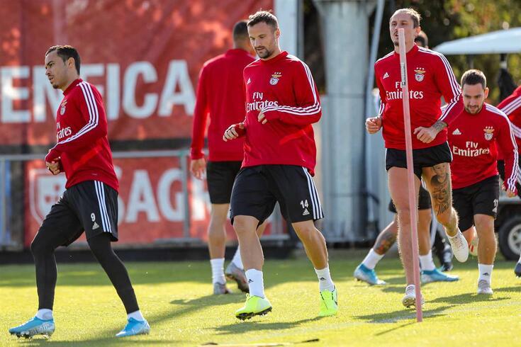 Benfica defronta esta quarta-feira o Lyon