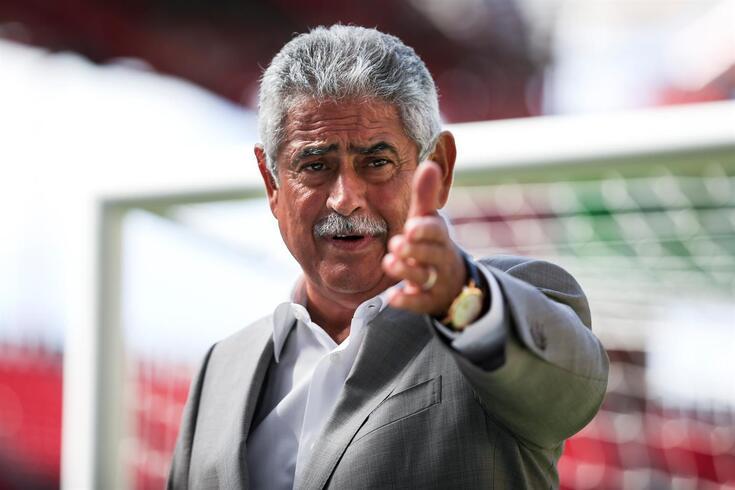 Luís Vieira desiludido com a derrota em casa do Zenit
